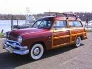 51 Ford Country squire Wagon